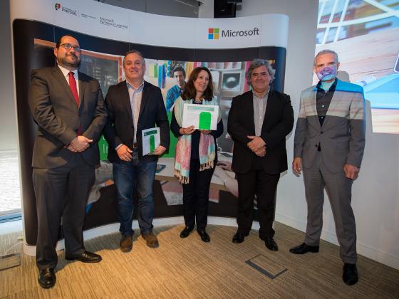 Grupo CH convidado pela Microsoft