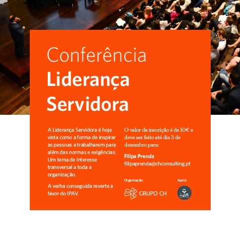 CH organiza Conferência sobre Liderança Servidora