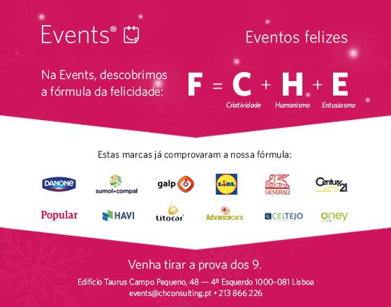 A CH EVENTS apresenta a fórmula de sucesso para o seu evento