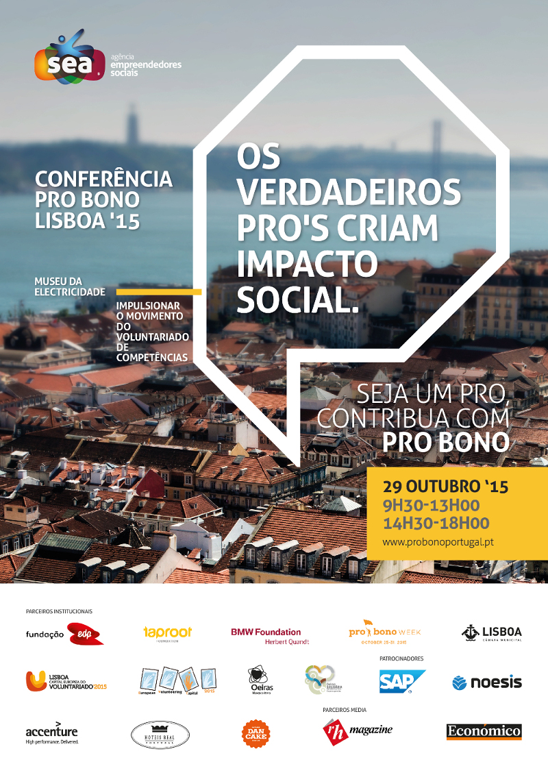 Grupo CH na Conferência Pro Bono Lisboa'15