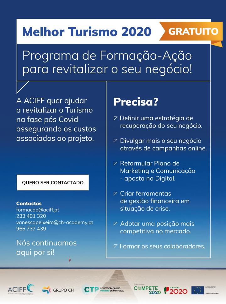 Programa de Formação-Ação Melhor Turismo 2020