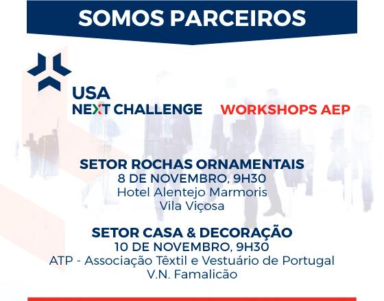 USA Next Challenge - Workshops de