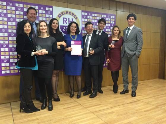 Grupo CH distinguido nos Melhores Fornecedores de RH 2015