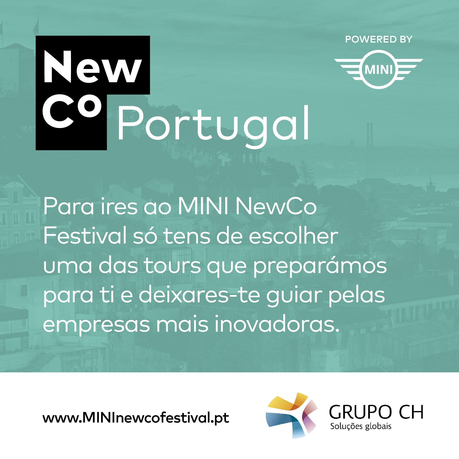 Grupo CH adere ao Mini NewCo Festival
