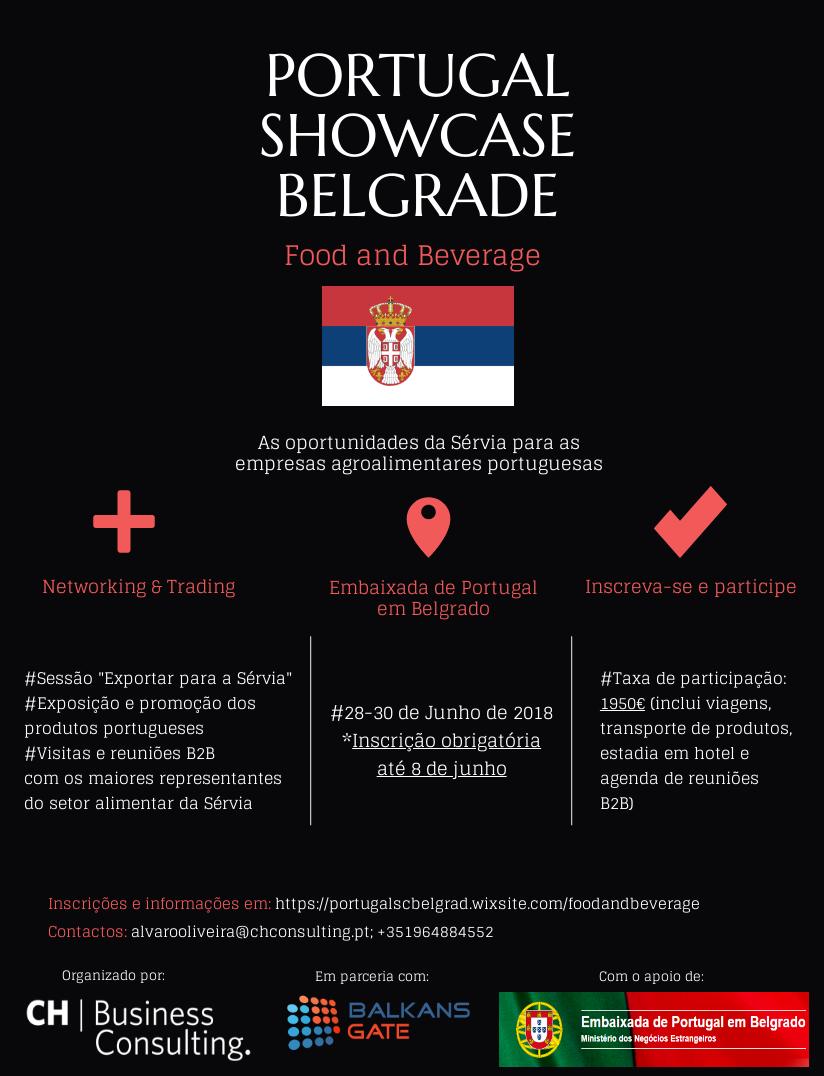 CH organiza Portugal Showcase Belgrade: Food & Beverage