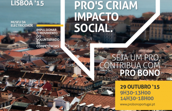 Grupo CH in the conference Pro Bono Lisboa'15