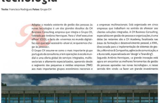 CH Consulting na Revista Human