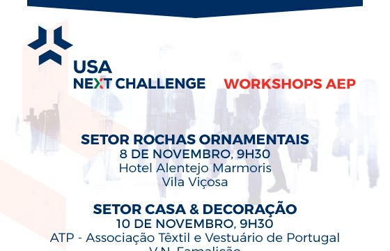 USA Next Challenge - Workshops de