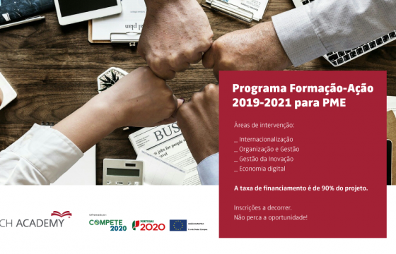 Programa Formação-Ação 2019-2021 para PME