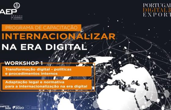 "1º Workshop "" Internacionalizar na Era Digital"""