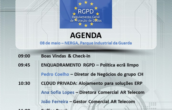 Grupo CH apresenta RGPD no NERGA