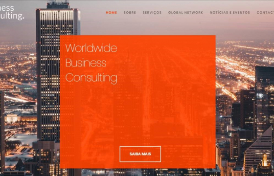 CH Business Consulting lança site internacional